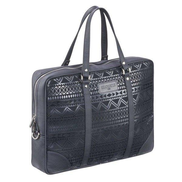 630906b1b01dc Damska torba biznesowa na laptopa i dokumenty Czarny