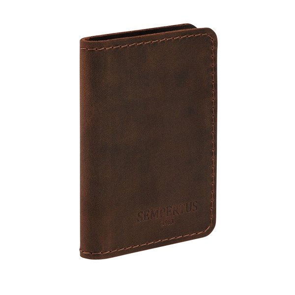 3b20b25c5bcc8 Skórzany cienki portfel, etui na karty PM-07/CH Kliknij, aby powiększyć ...