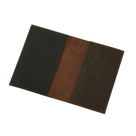 Skórzane etui na paszport, dokumenty lub dowód rejestracyjny Sempertus EP-01/CH